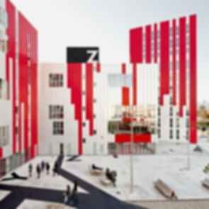 University Housing, Gandia - Courtyard