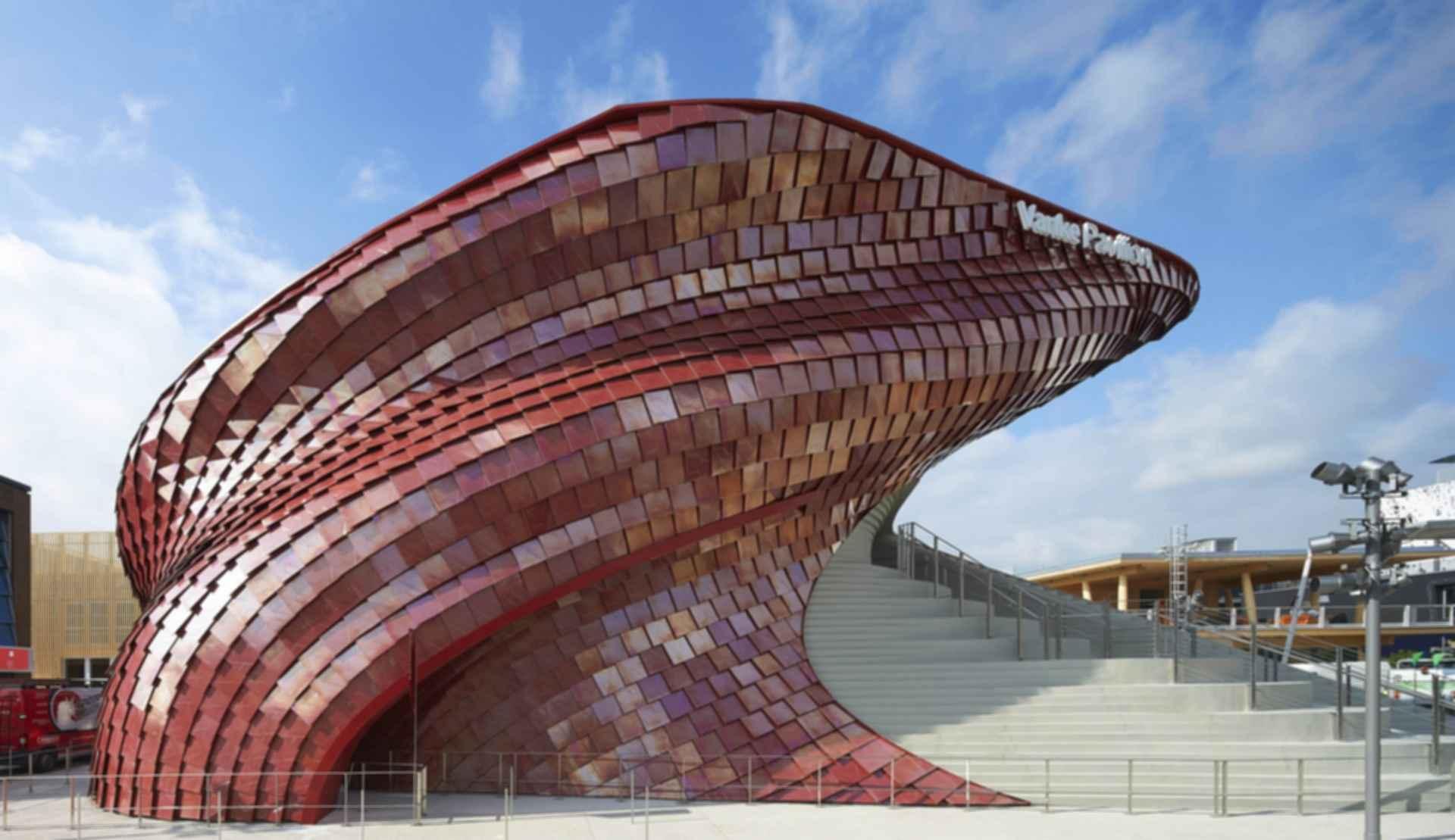 Vanke Pavilion - Exterior