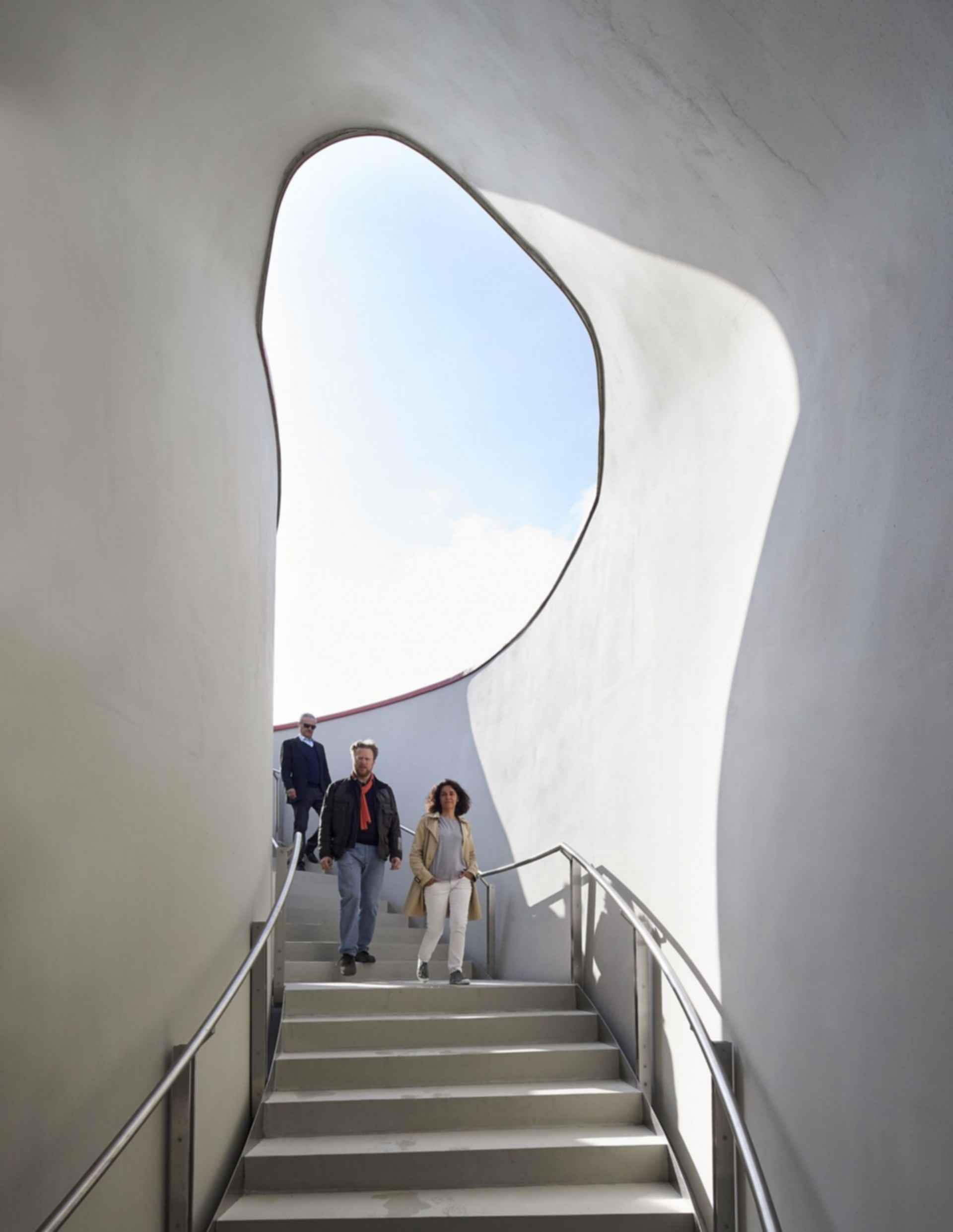 Vanke Pavilion - Entrance