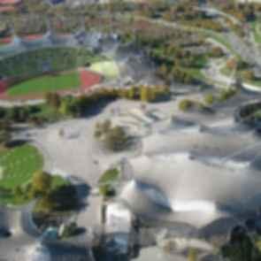 Munich Olympic Stadium - Bird's Eye View
