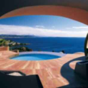 Palais Bulles - View from Deck