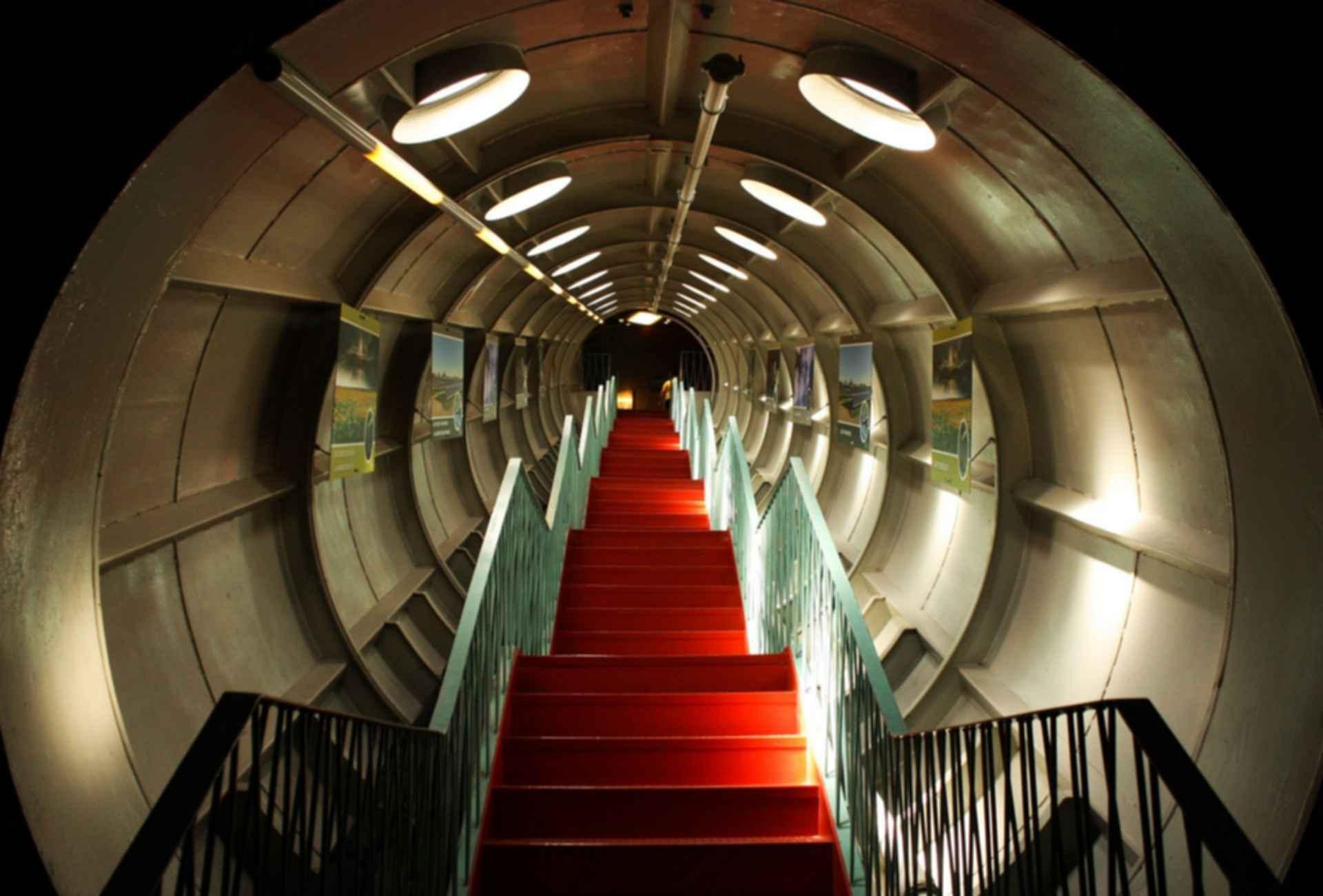 The Atomium - Interior Walkway