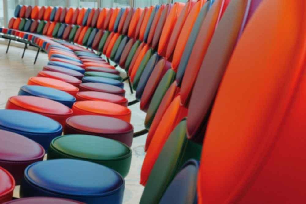 The Atomium - Seating