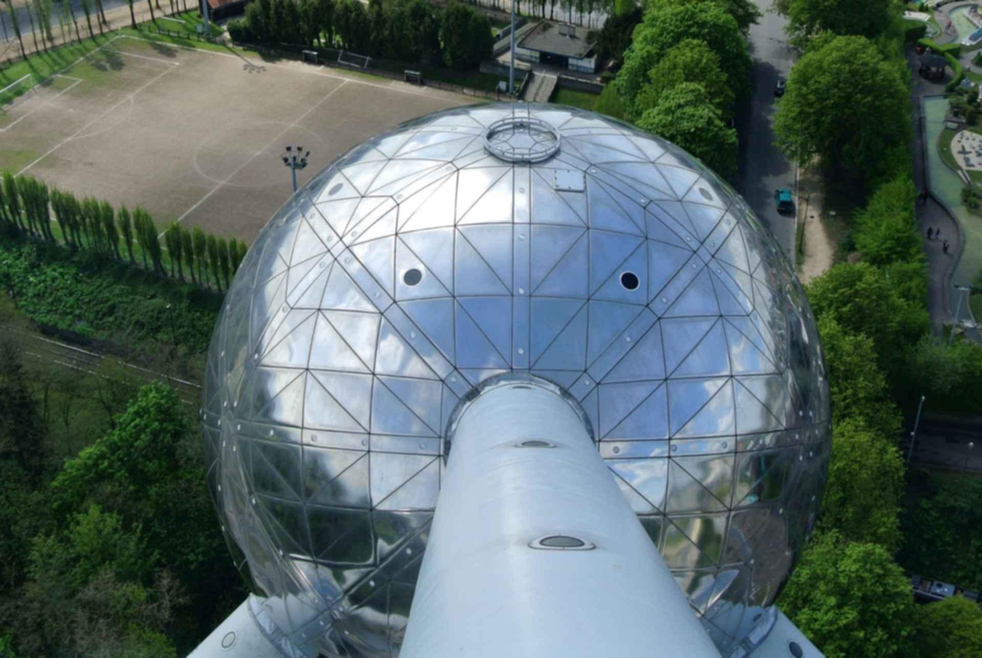 The Atomium - Orb Detail