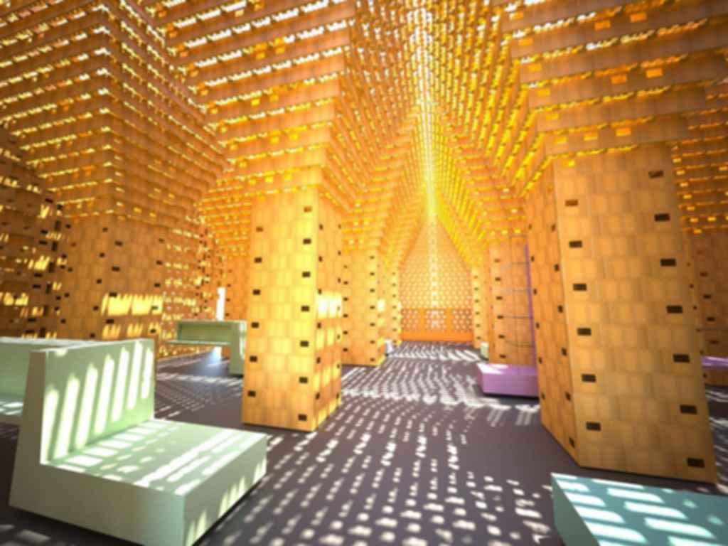 The Atomium - Interior