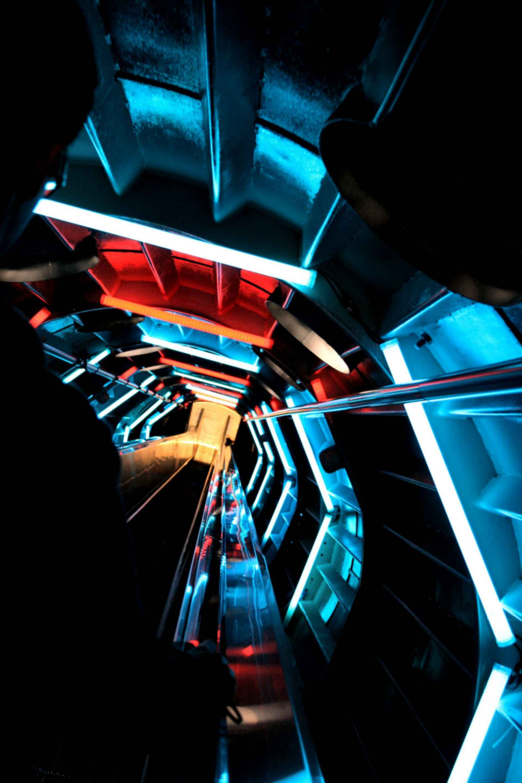 The Atomium - Structure at Night