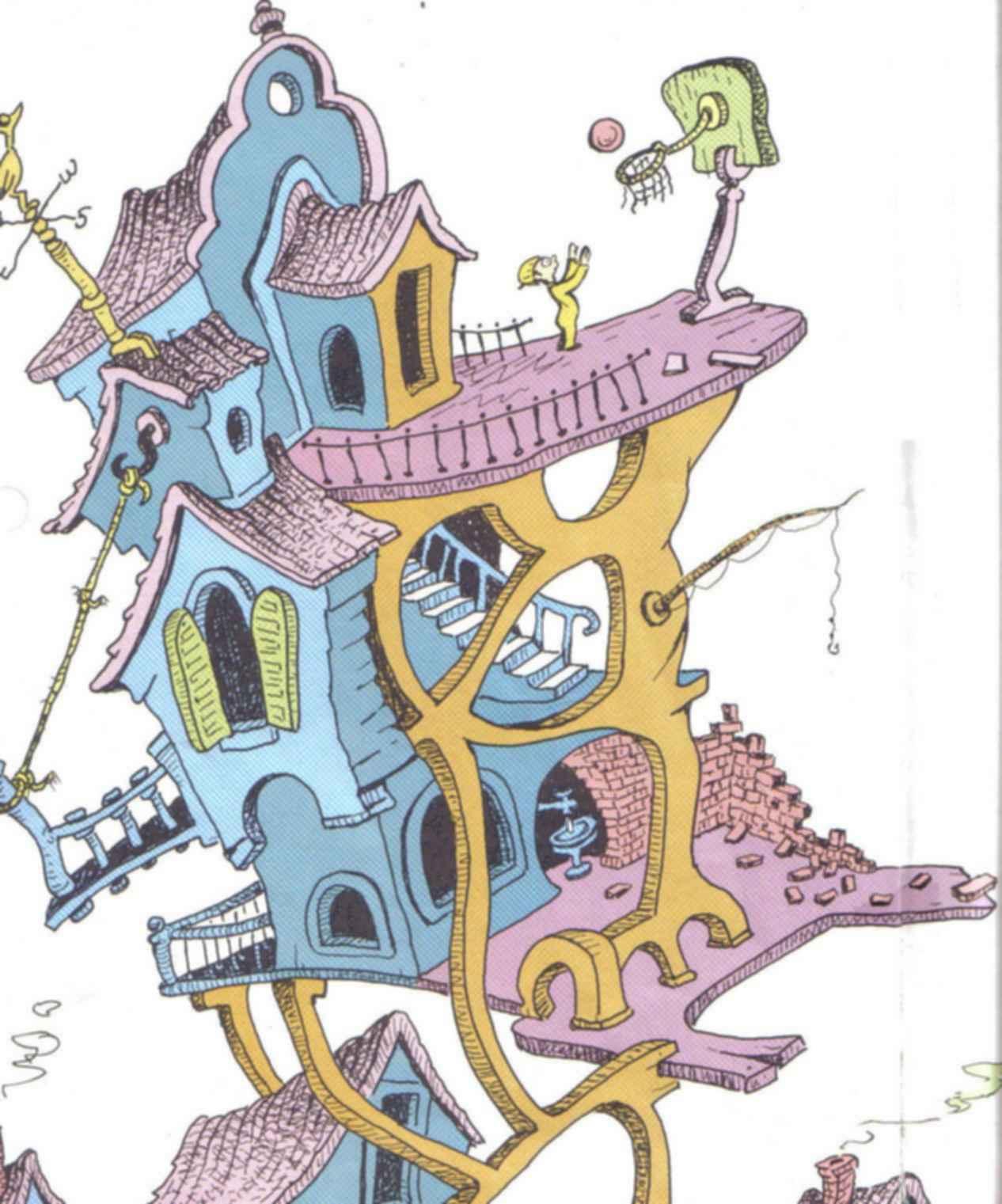 Dr. Seuss House - Inspiration