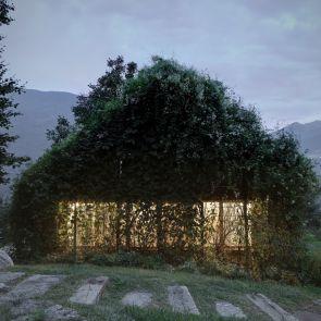 The Green Box - Exterior