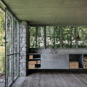 The Green Box - Interior