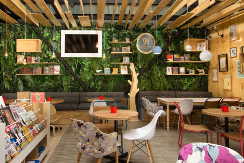 9 and Three Quarters Bookstore Cafe - Interior