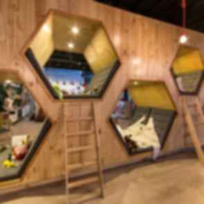 9 and Three Quarters Bookstore Cafe - Hexagonal Nooks