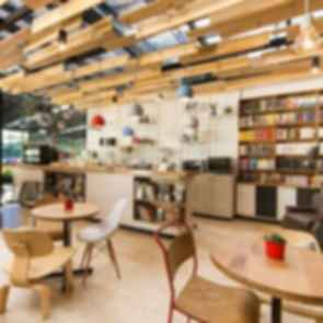9 and Three Quarters Bookstore Cafe - Interior