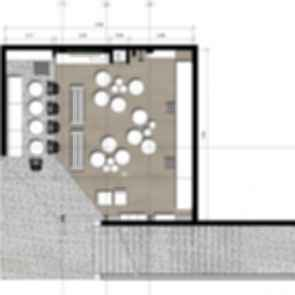 9 and Three Quarters Bookstore Cafe - Floor Plan