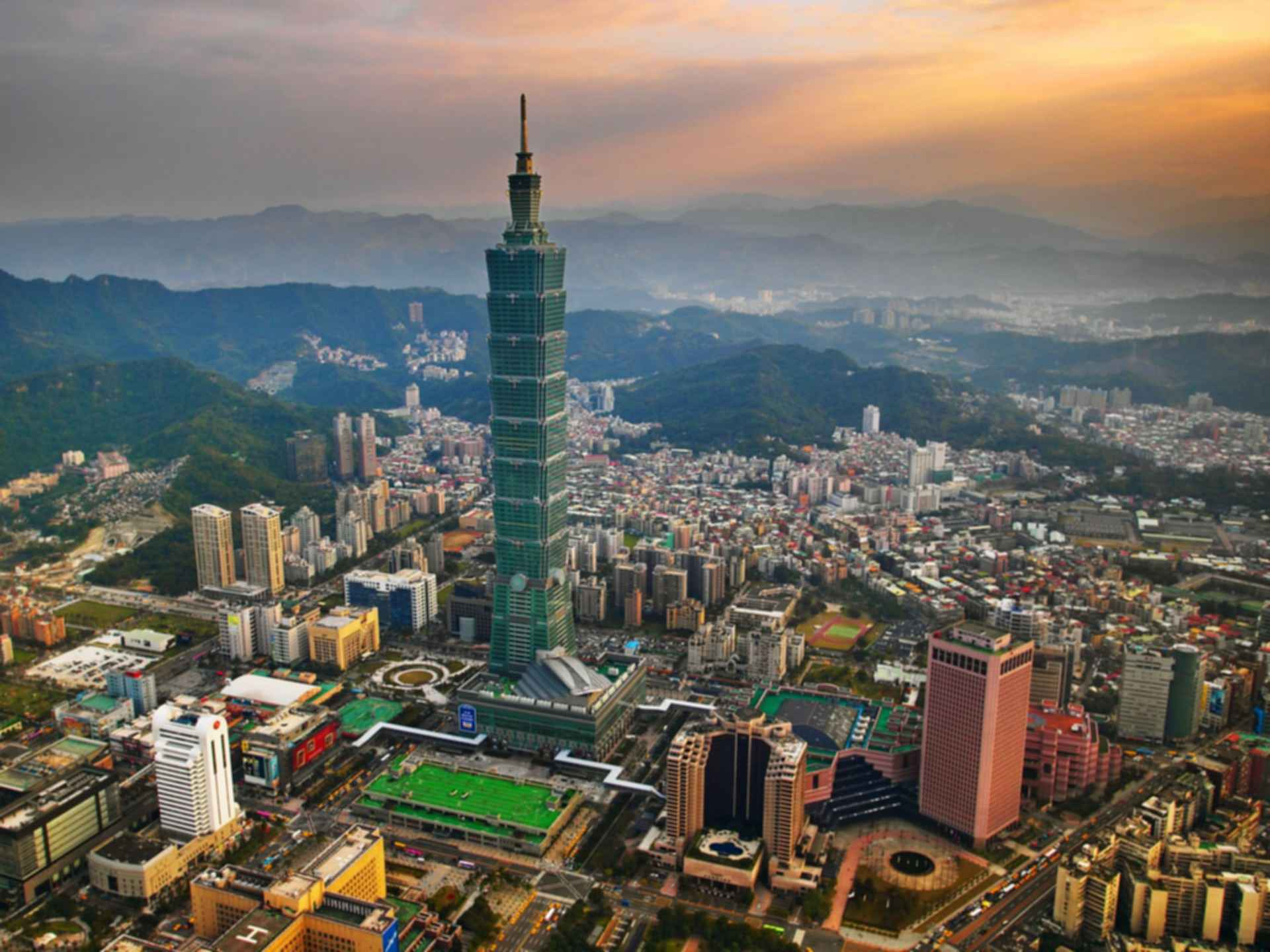 Taipei 101 - Exterior