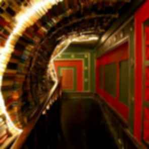 The Last Bookstore - Book Arch Wall