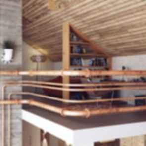 Belarus Loft - Interior/Study