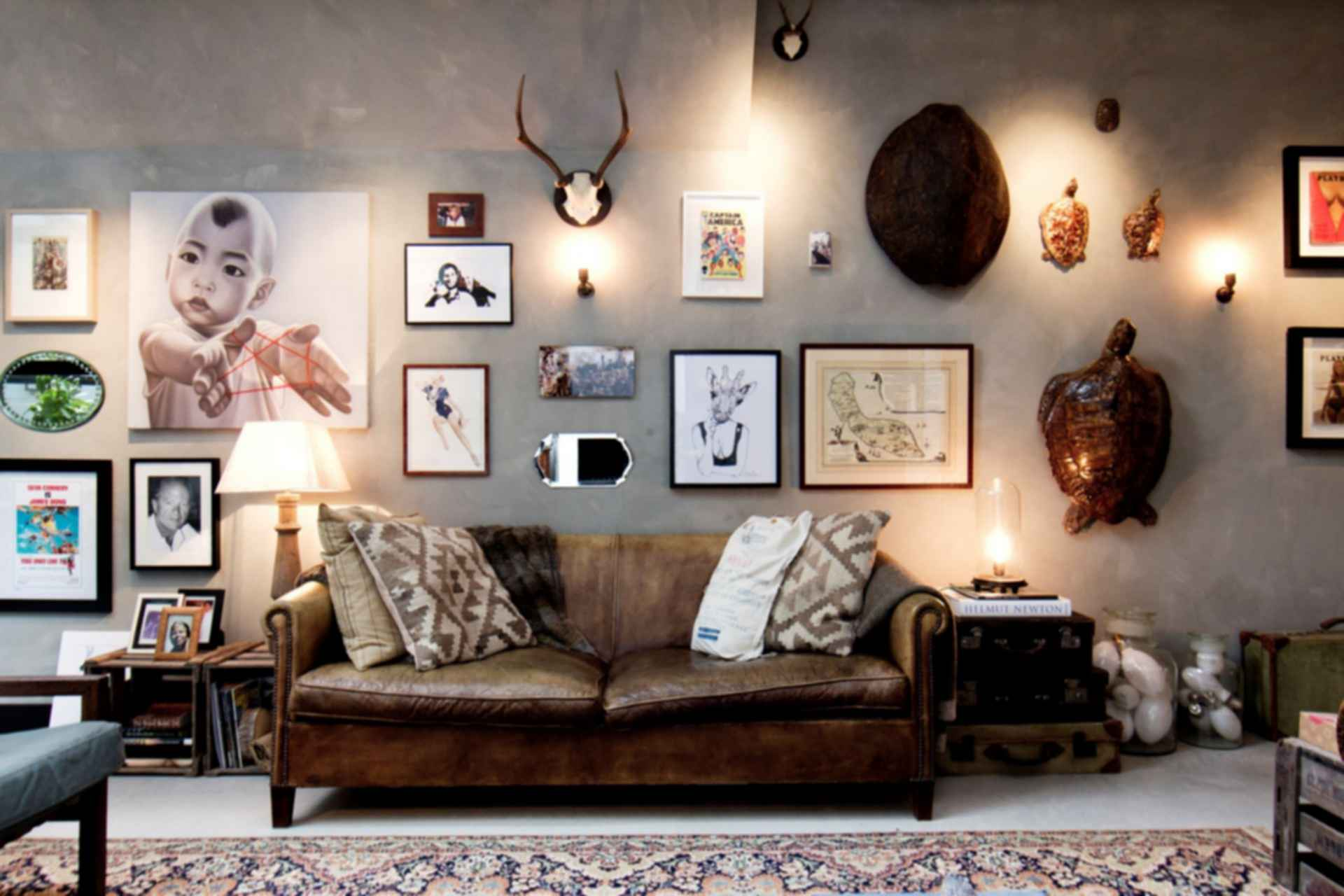 Garage Loft in Amsterdam - Lounge