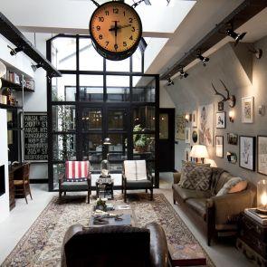 Garage Loft in Amsterdam - Interior/Lounge