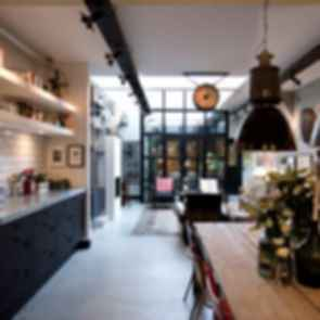 Garage Loft in Amsterdam - Interior/Kitchen