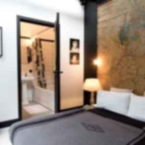 Garage Loft in Amsterdam - Interior/Bedroom