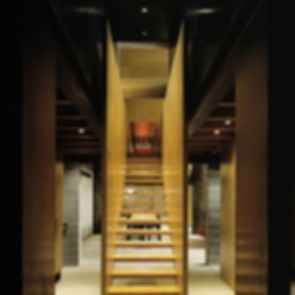 Chicken Point Cabin - Interior/Stairs