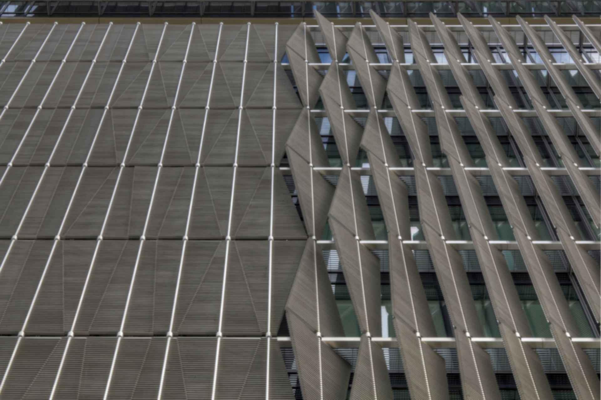 Q1 Headquarters - Exterior Shades
