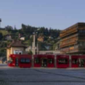 IVB Operational Service Building - Exterior/Tram
