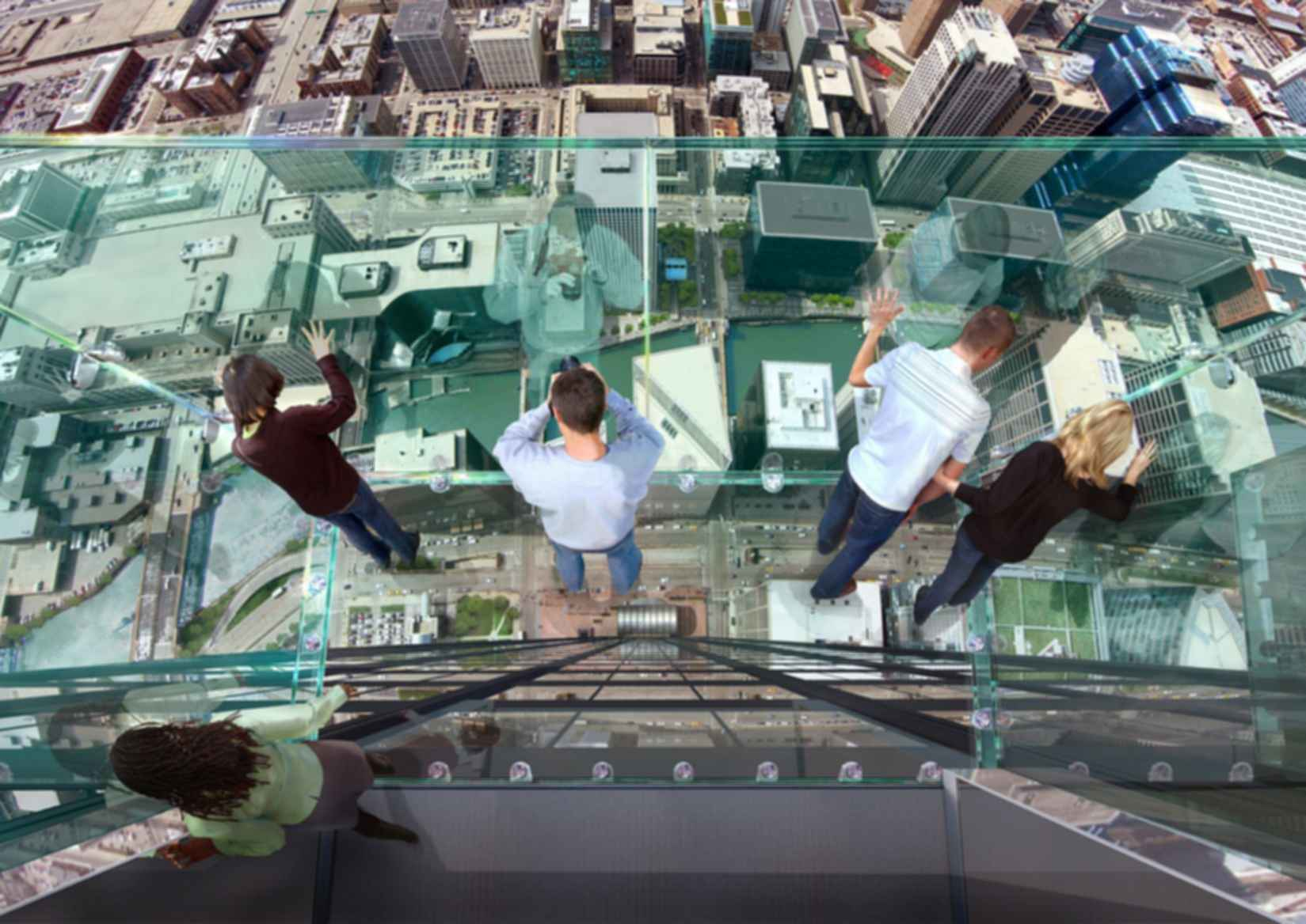 Willis Tower - View from Sky Ledge