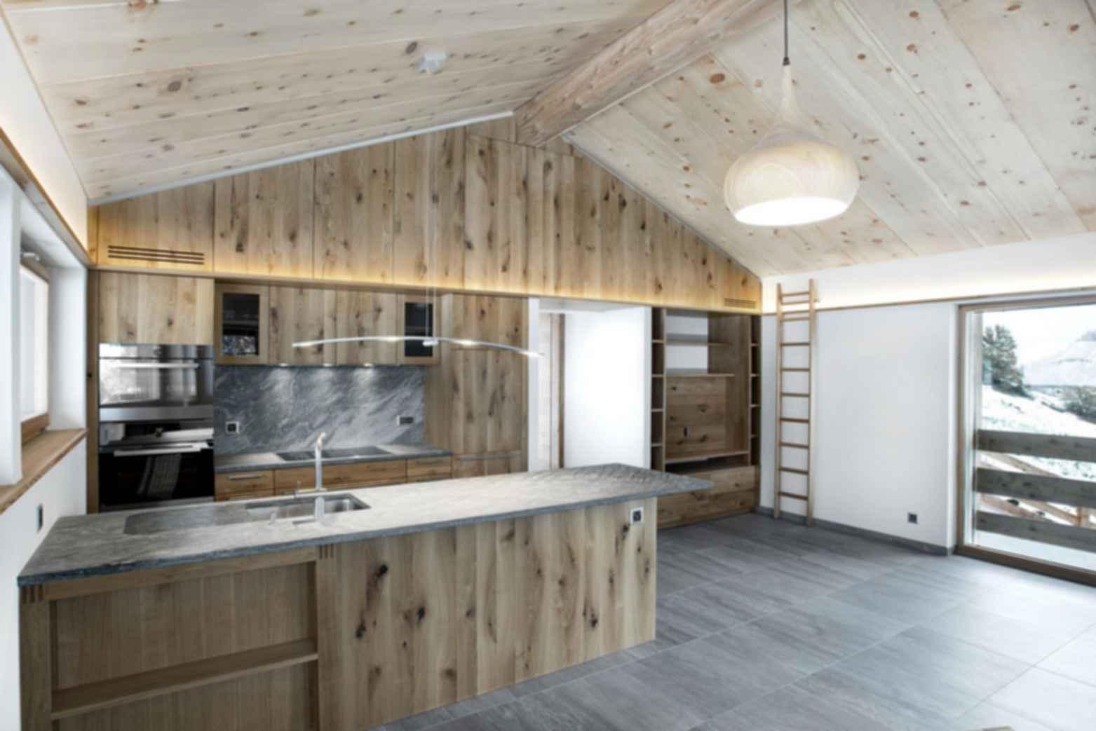 The Larch Barn - Kitchen