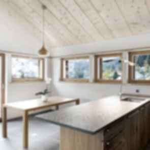 The Larch Barn - Kitchen