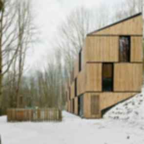 Low Energy Bamboo House - Exterior