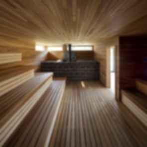 Station BLU - Interior Sauna