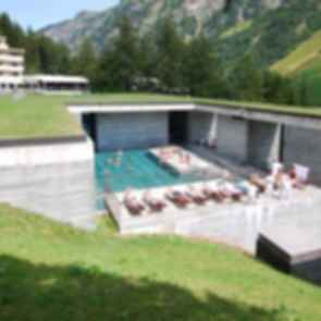 The Therme Vals - Exterior/Pool
