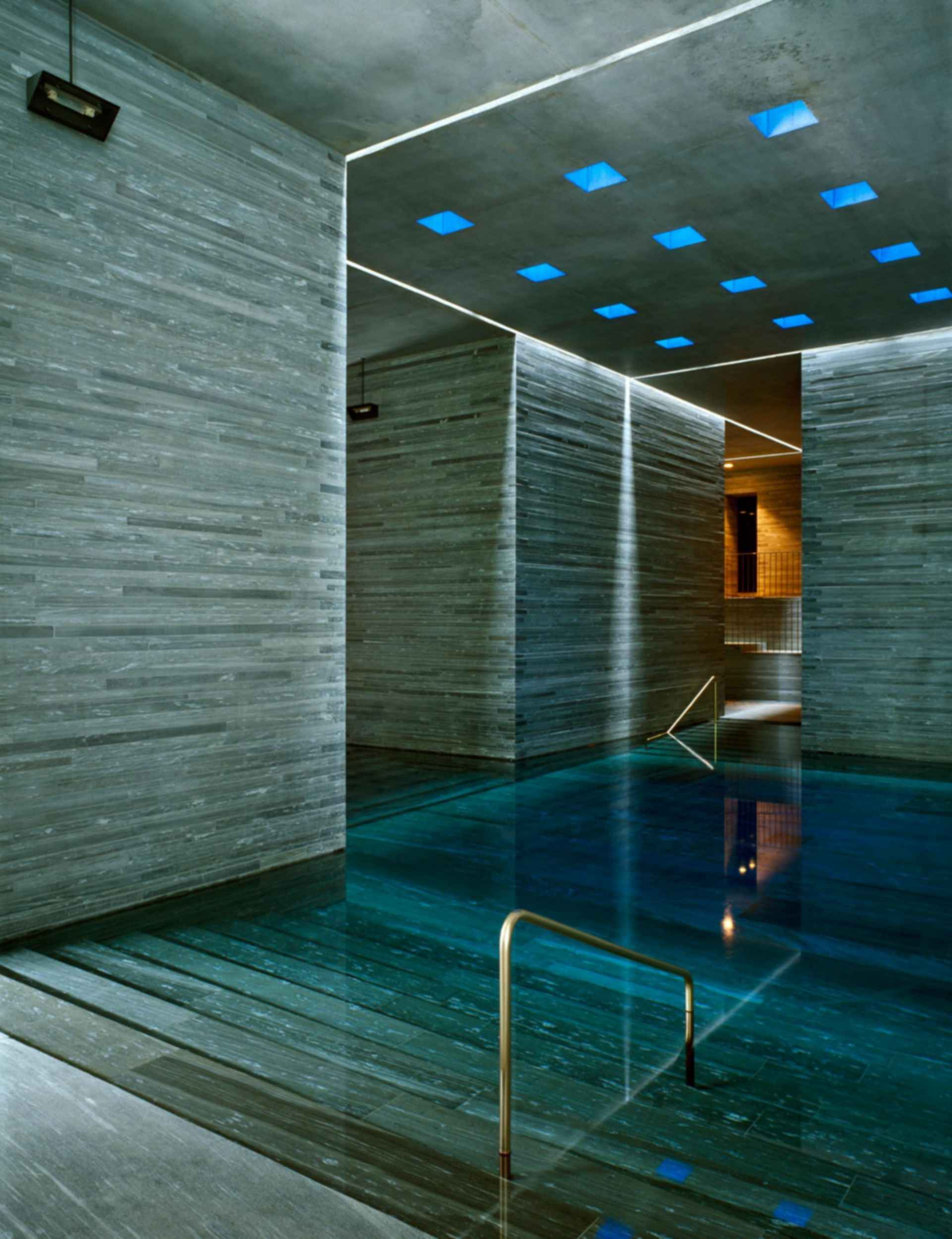 The Therme Vals - Pool