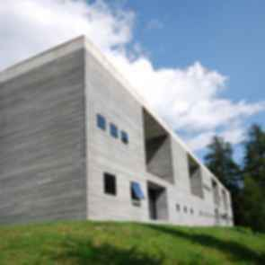 The Therme Vals - Exterior of Building