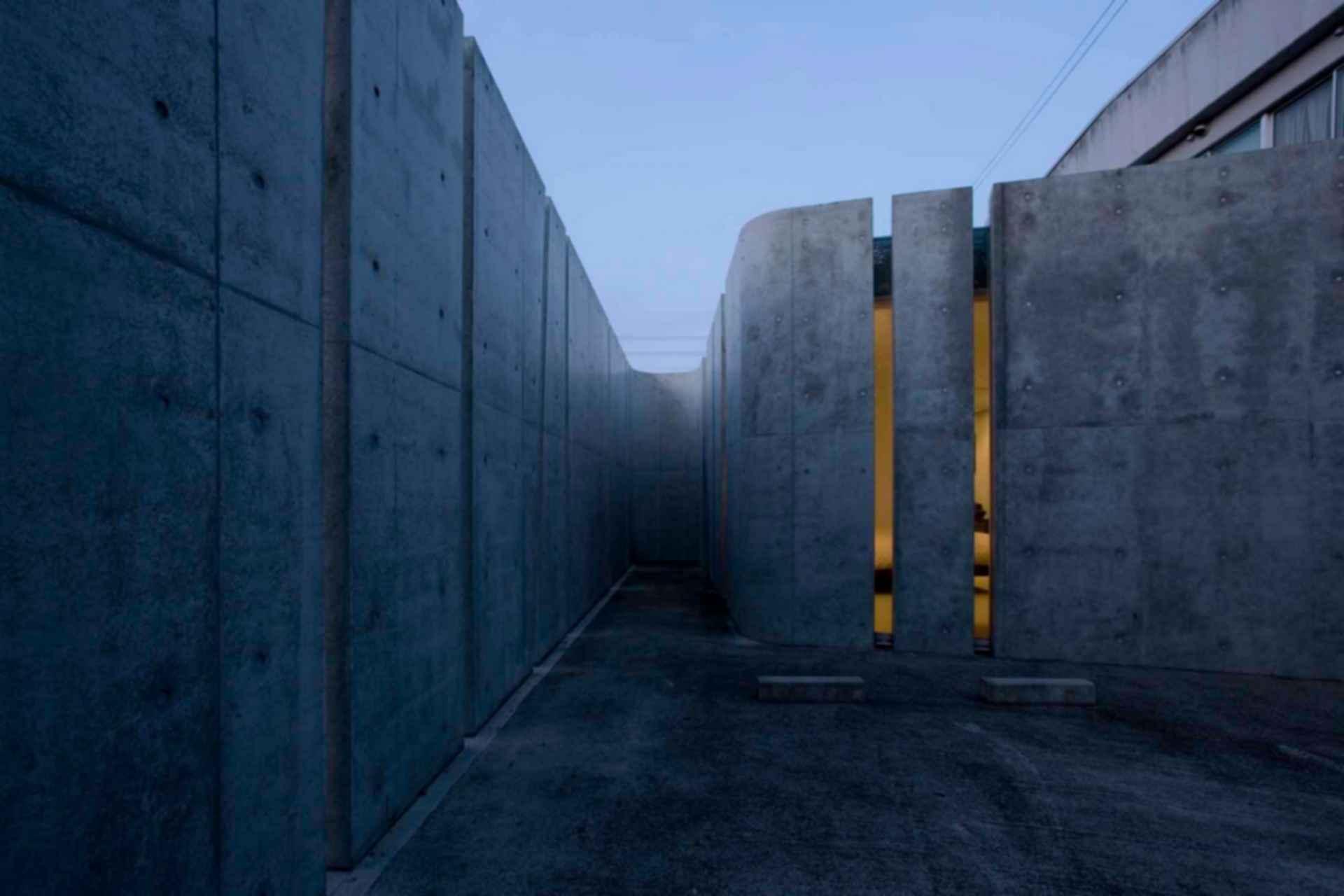 Slit House - Exterior