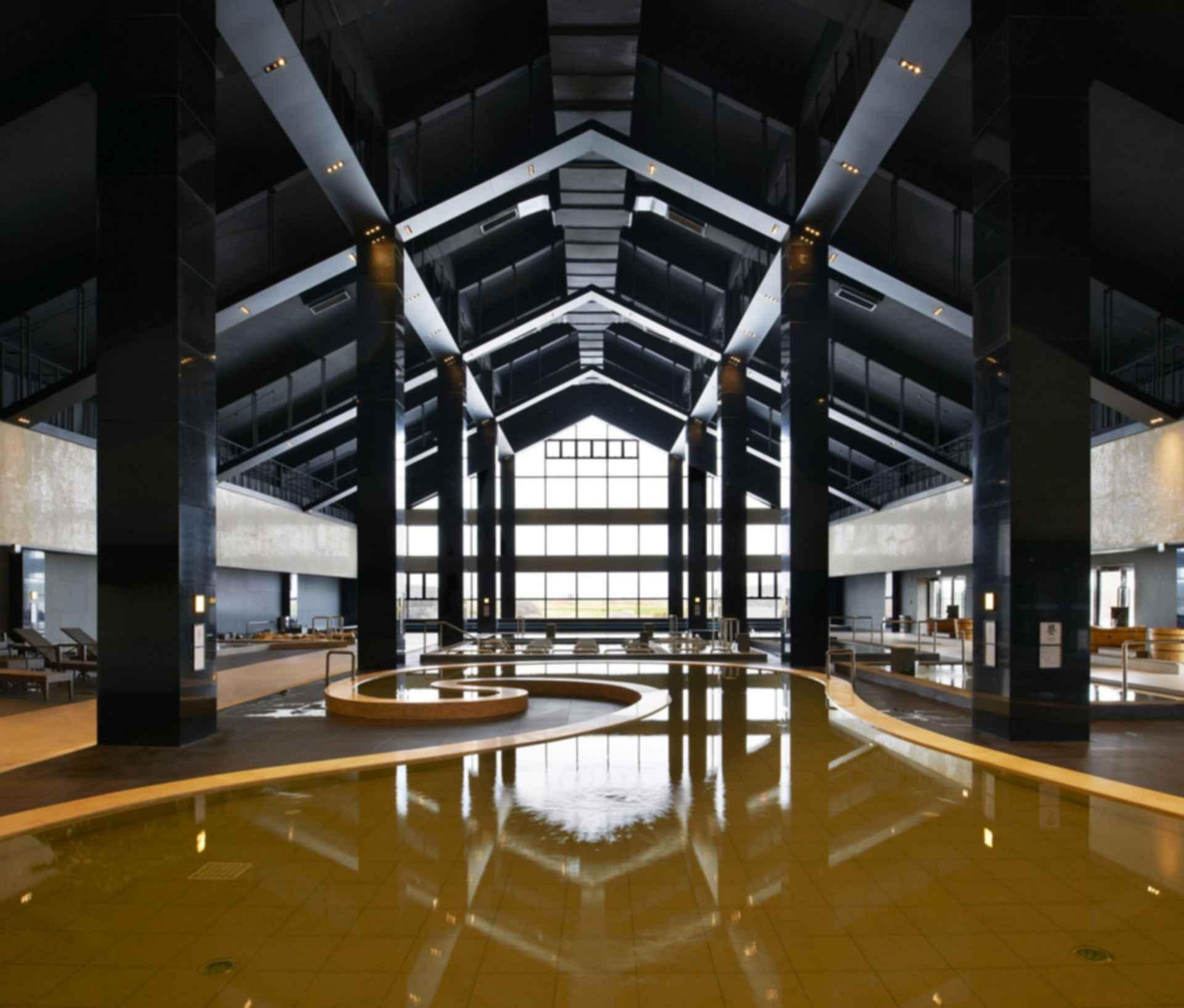 Qiqihaer Hezhitang Hot Spring - Interior/Pool