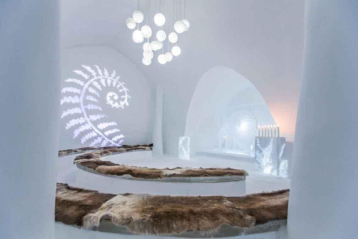 Jukkasjarvi Ice Hotel - Lounge