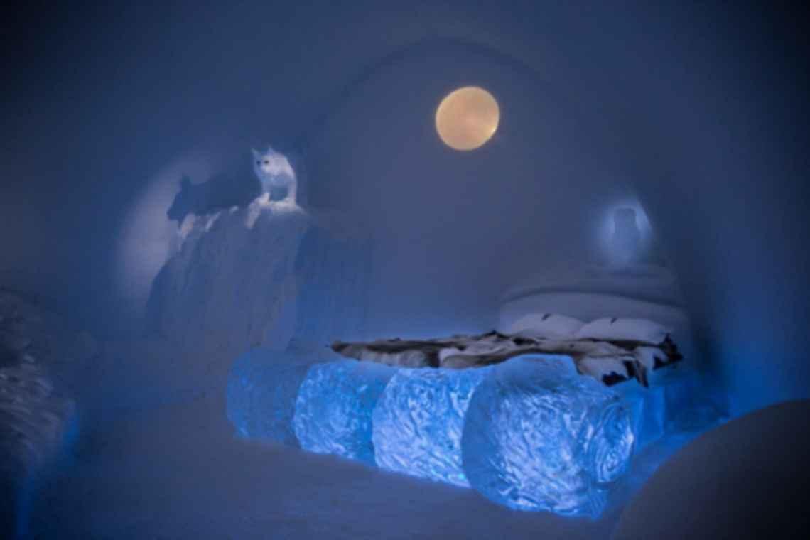 Jukkasjarvi Ice Hotel - Interior/Bedroom