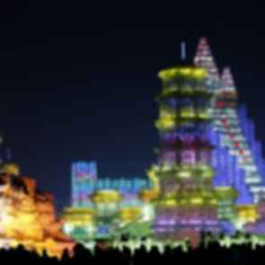 Harbin International Ice And Snow Festival - Night/Exterior