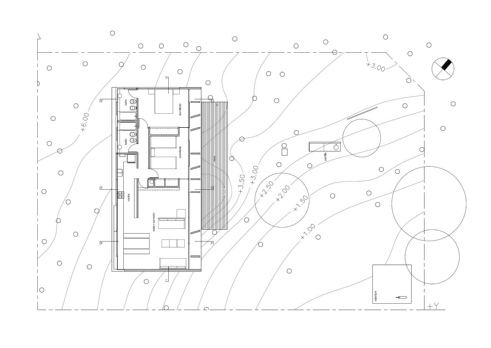 Concrete House - Site Plan