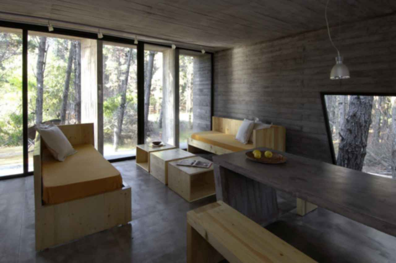 Concrete House - Interior