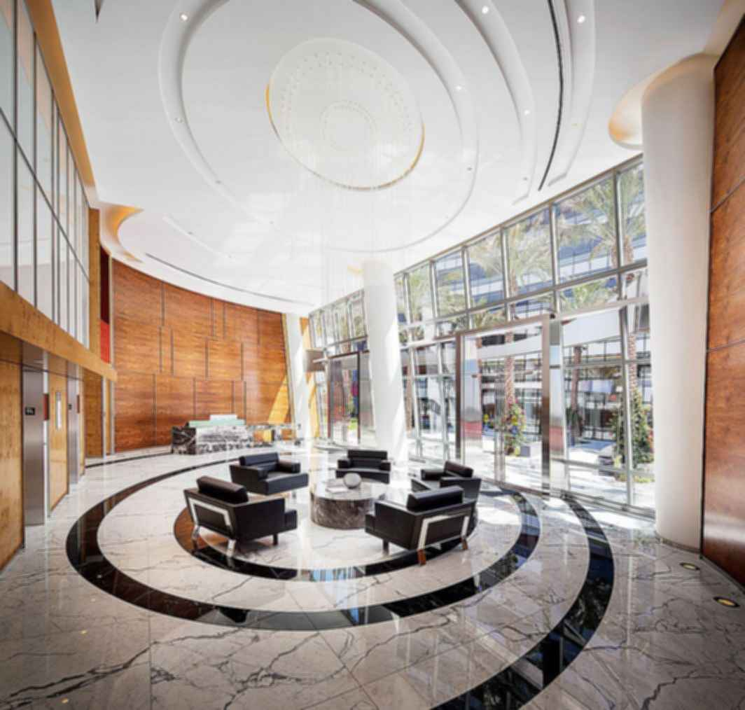 Pacific Design Center - Interior/Reception