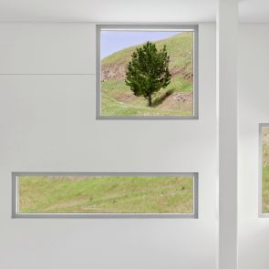 Chu Hall - Solar Energy Research Center - Interior/Windows