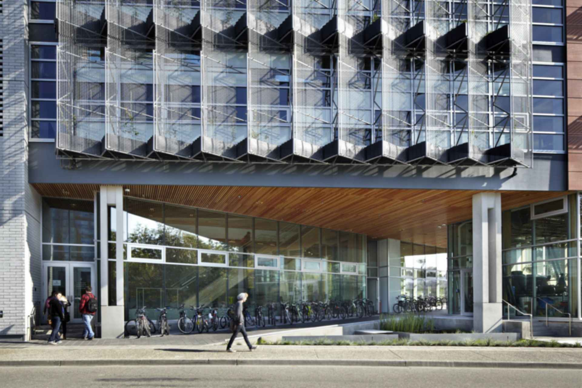 Centre for Interactive Research on Sustainability - Exterior/Entrance