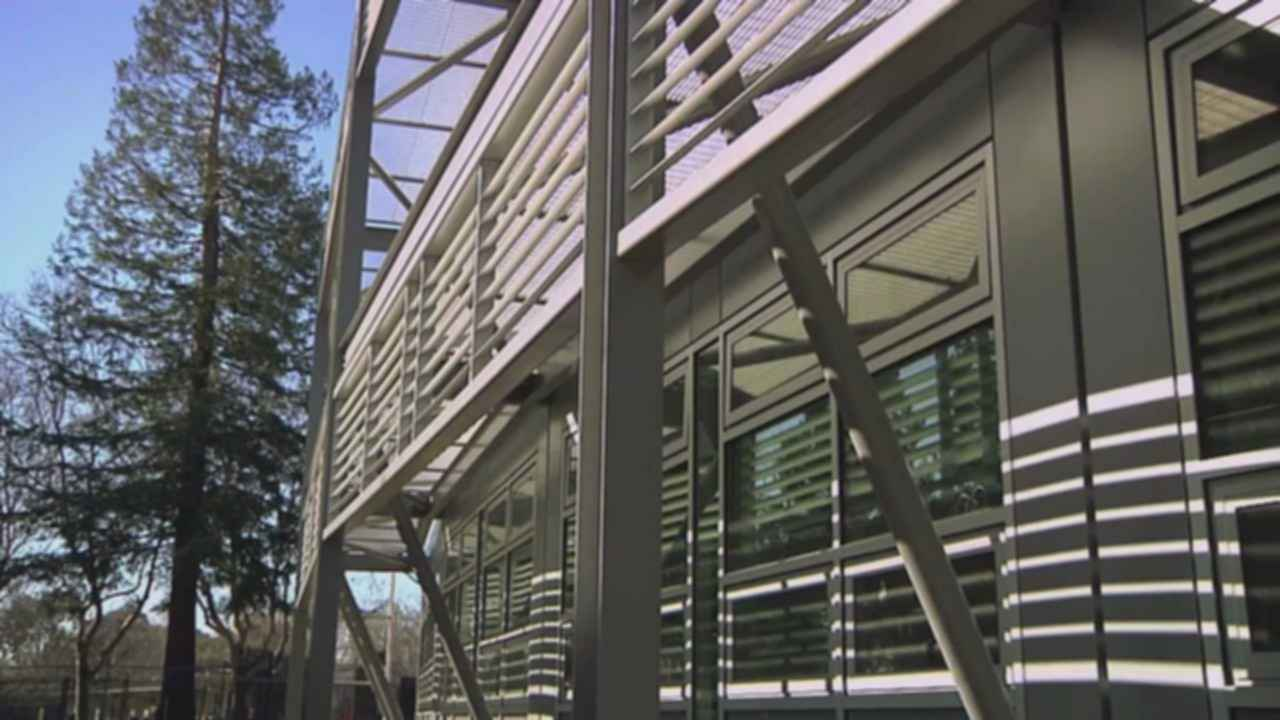 NASA Sustainability Base - Exterior/Steel Frame