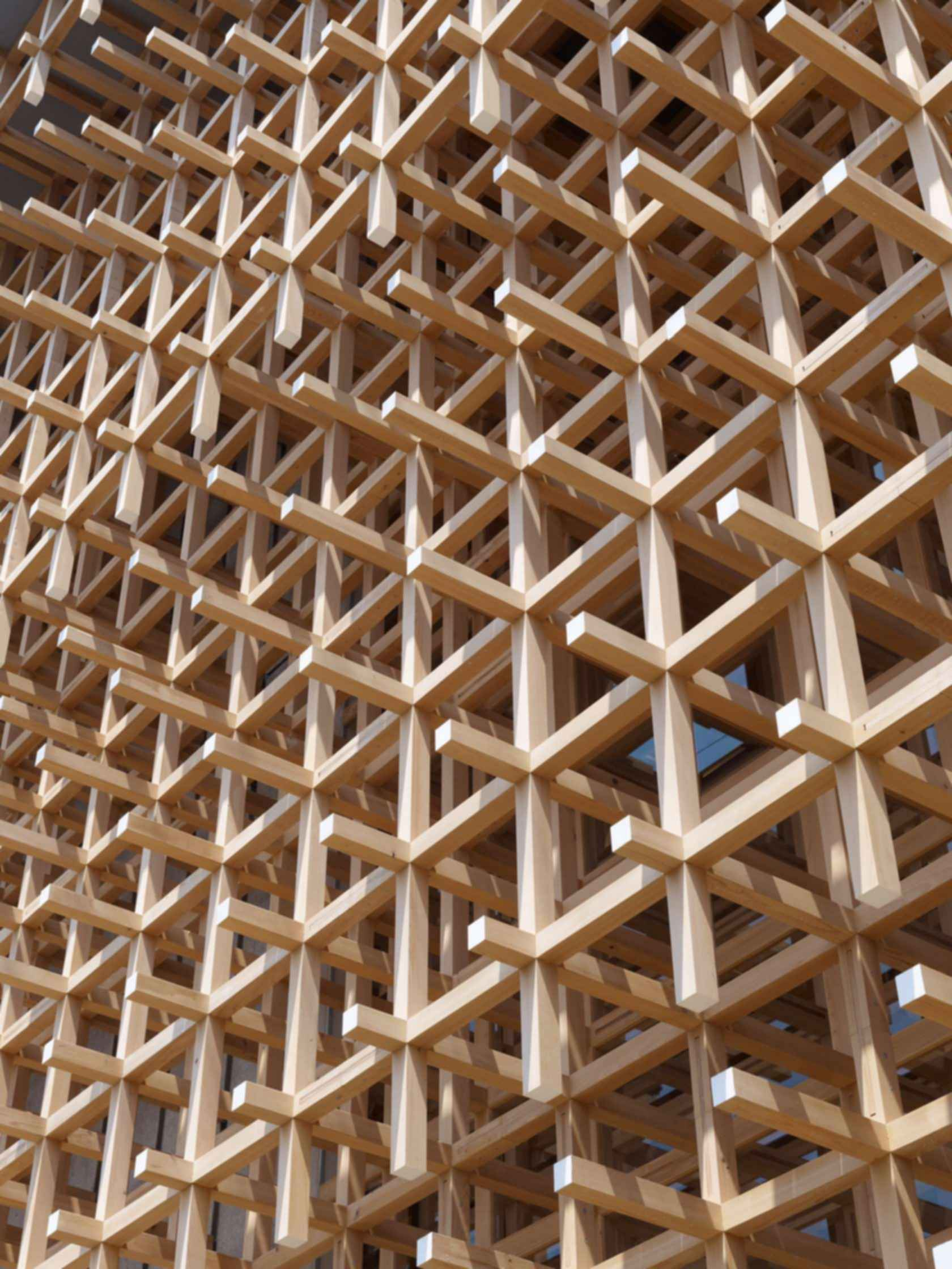 GC Prostho Museum and Research Center - Exterior Wood