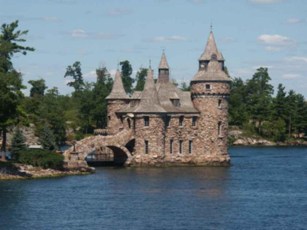 Boldt's Castle - Exterior
