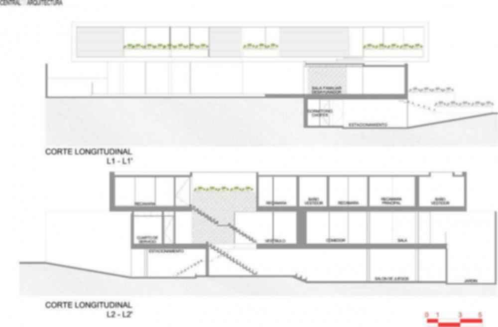 House La Punta - Site Plan