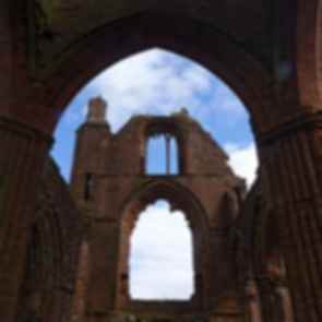 Sweetheart Abbey - Window Frame
